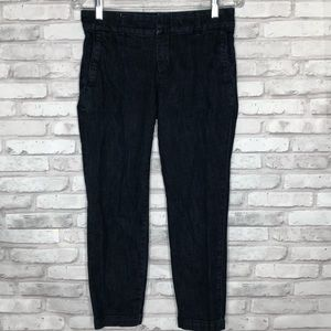 Kut from the Kloth Taylor crop trouser, size 2